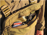 Runner's Kit Bag front pocket