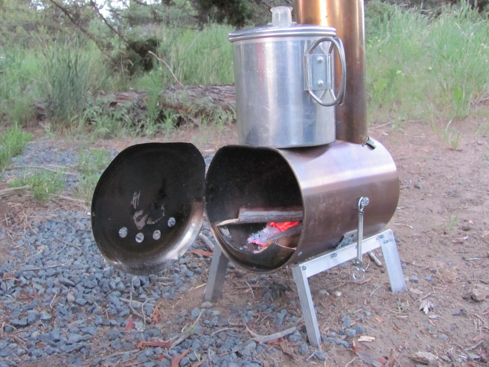 & Hill People Gear | Make your own woodstove
